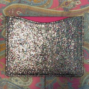 Kate Spade Multicolored Sparkle IPad Sleeve